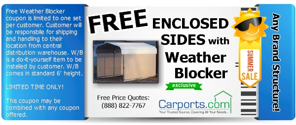 weather blocker coupon